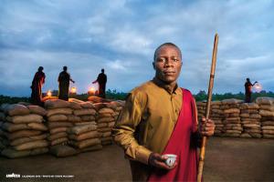 Calendario Lavazza testimonial mese gennaio dreaming better Africa