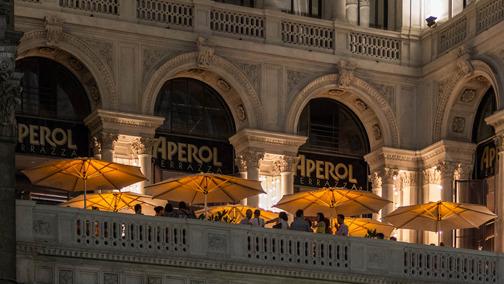 L\'aperitivo si beve alla Terrazza Aperol | bargiornale