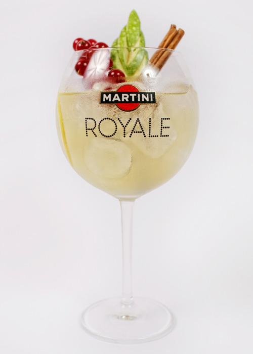 E prosecco martini bianco cocktail Martini Bianco
