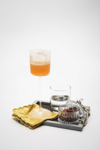 Francesco Cione_Prova Fundamental of flavours - New Orleans New Crusta - an 'à la Creole' fancy drink