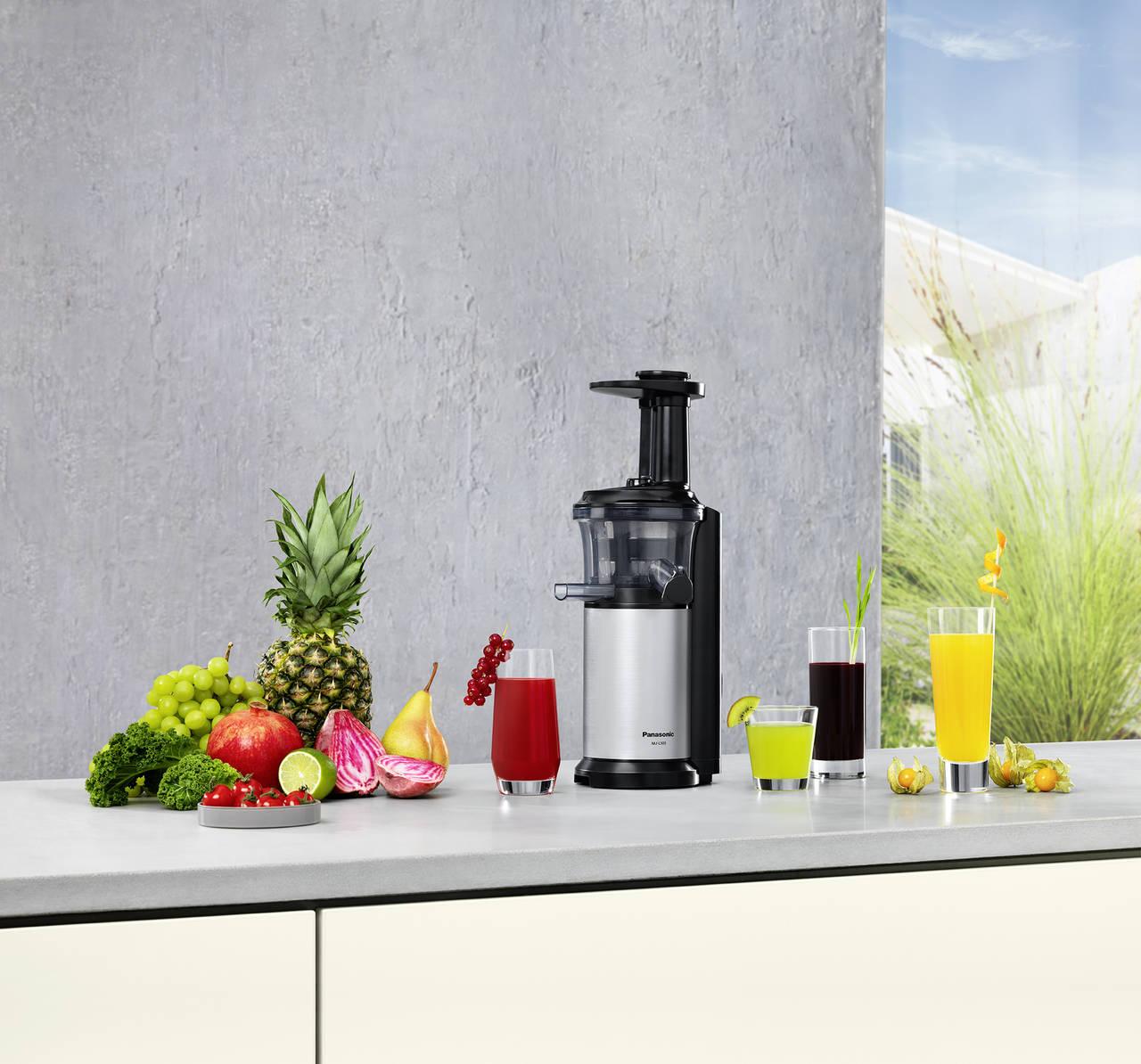 Da Panasonic l estrattore per creare succhi di frutta freschi e nutrienti bargiornale
