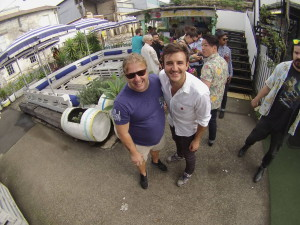 Marco Faraone e Stefano Catino sono state le nostre guide per i locali di Sydney