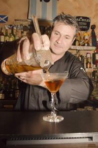 il mixologist Francesco Conte