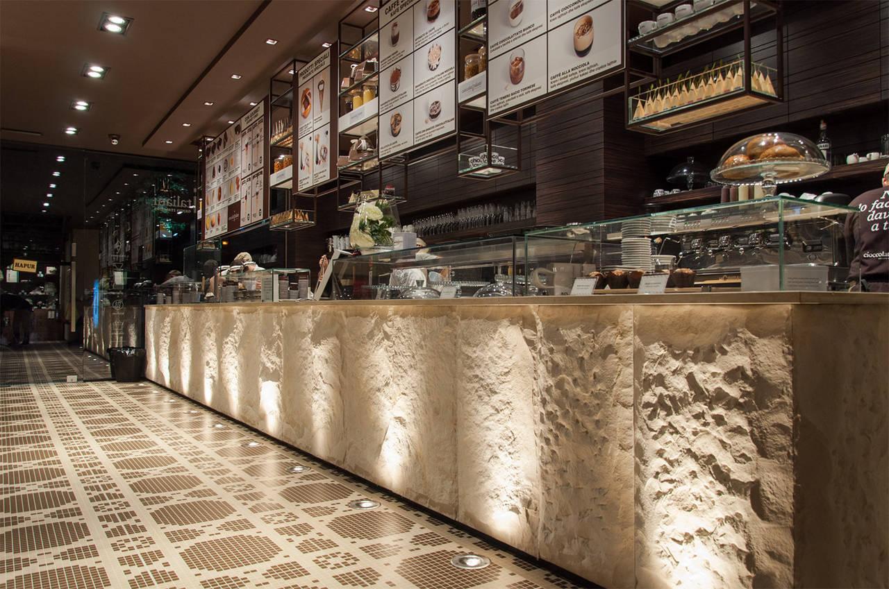 Le soluzioni che cambiano il bar il banco bar di ultima for Banchi bar e arredamenti completi