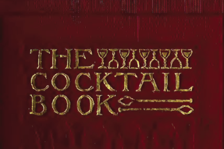 The Cocktail Book: A Sideboard Manual For Gentlemen (1902)