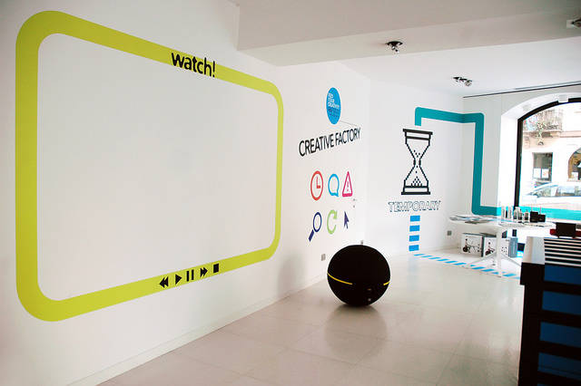 Temporary shop al via il corso di progettazione del poli for Progettazione del layout del garage