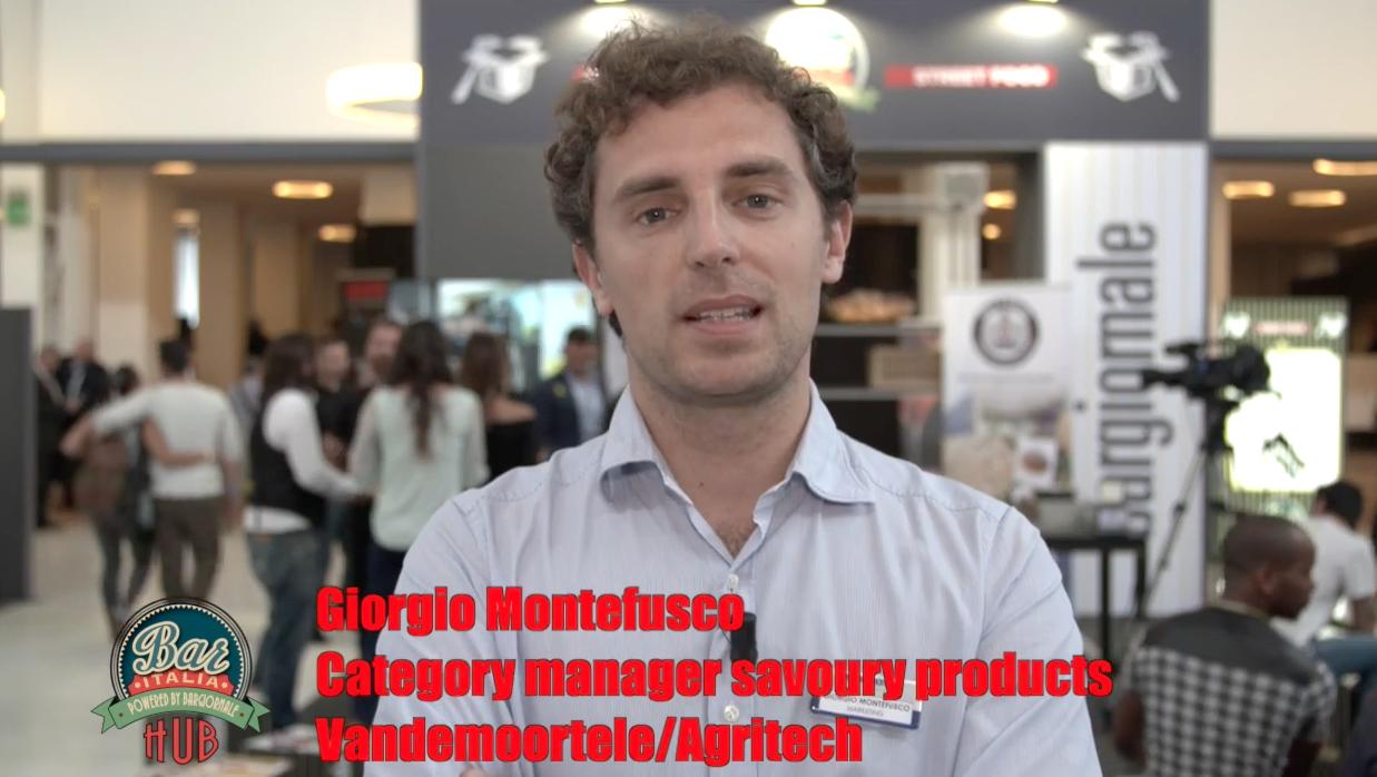 Giorgio Montefusco, category manager savoury products Vandemoortele/Agritech