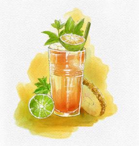 Cocktail tiki Kari-Kari di Mauro Ruggiero