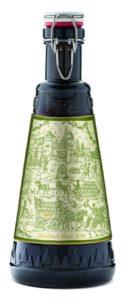 Birra di Natale Forst (5,2° alc) in bottiglia di vetro da 2 litri con tappo meccanico ed etichetta serigrafata 13.a edizione (forst.it).