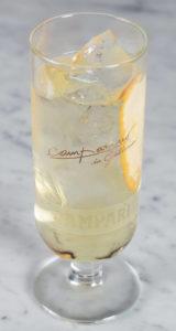 Cocktail Americano Bianco di Leonardo Leuci