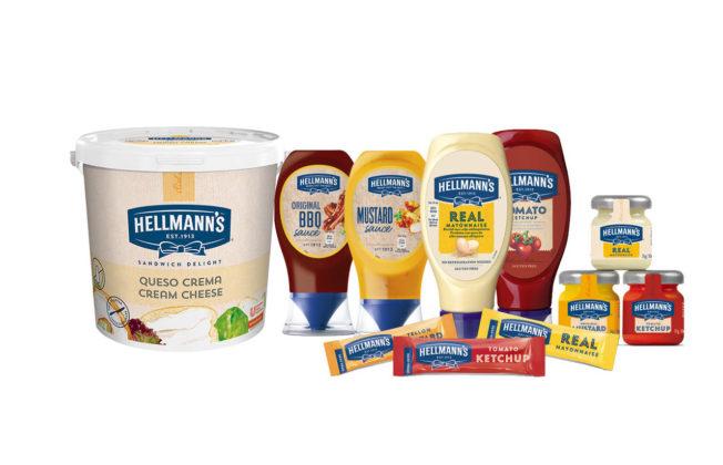 Gamma dei condimenti Hellmann's Unilever Food Solutions