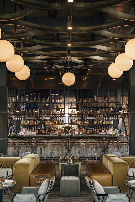 Il westlight bar di new york vince restaurant e design