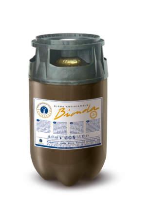 Fusto 20 litri Pet Polykeg per Birra Collesi.