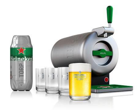 Spina soprabanco The Sub Heineken con fustino ... d387966f09fc