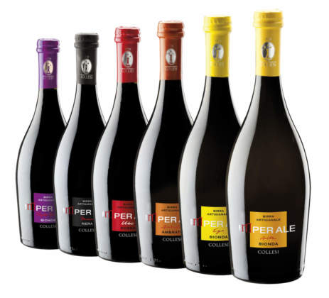 Gamma bottiglie Birra Collesi in bottiglia 75 cl