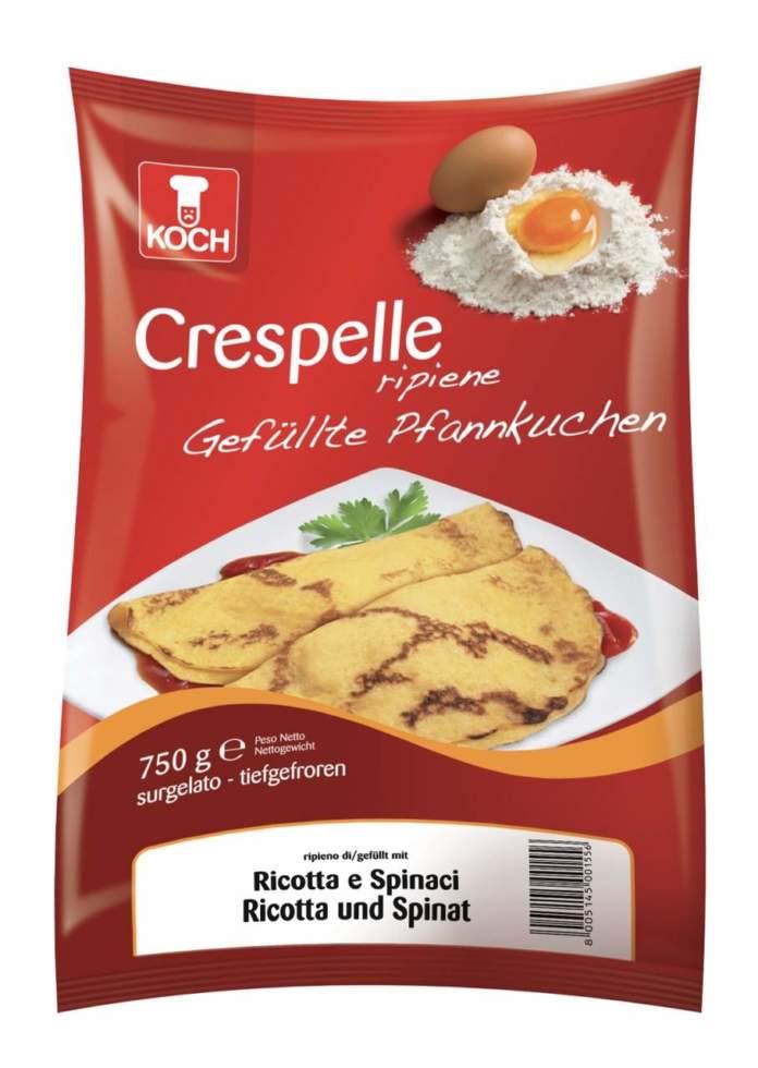 Crespelle salate Koch