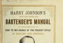 Harry Johnson 's Bartender's Manual