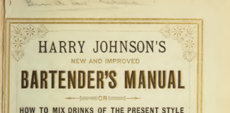 Harry Johnson 's Bartender's Manual