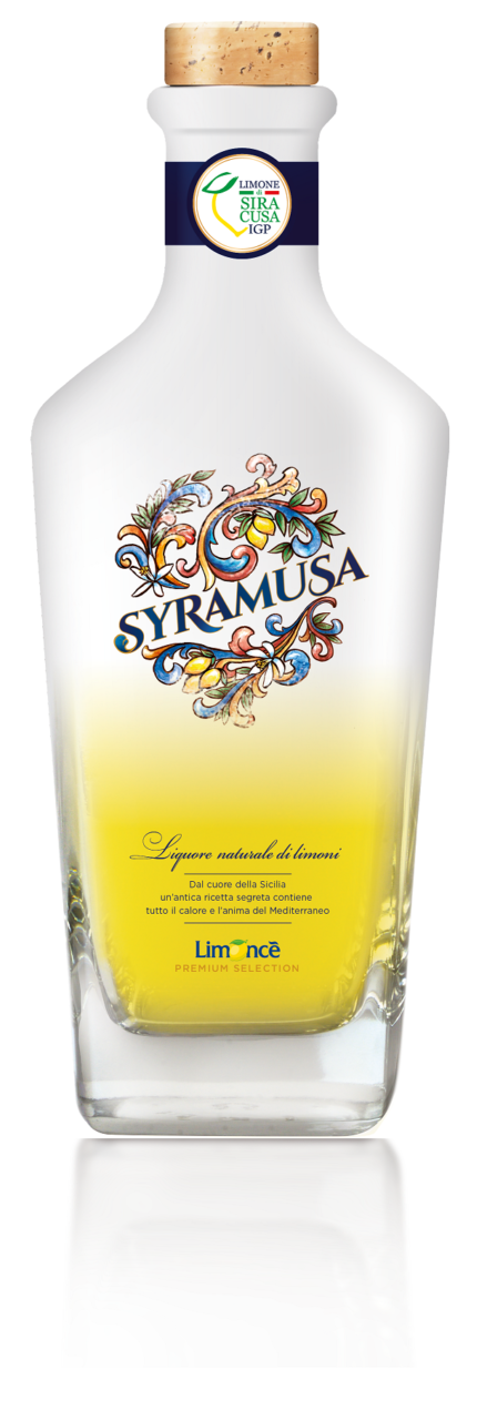 Syramusa limoncello Stock