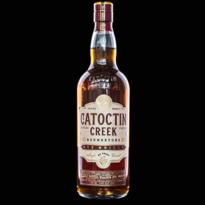 Catoctin Creek Rye Whiskey.