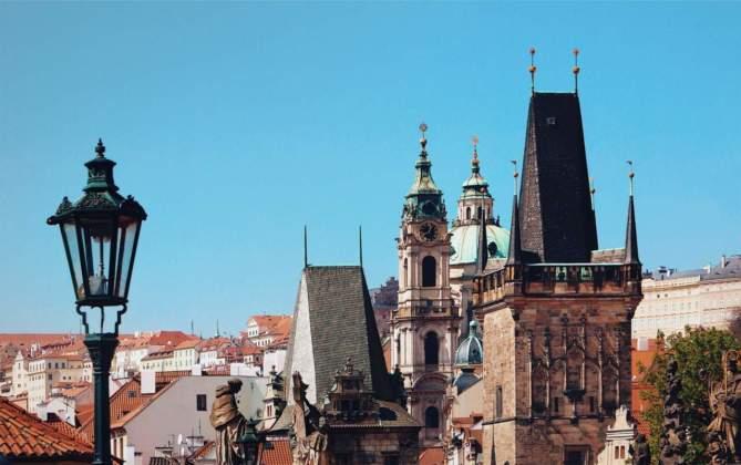 Quartiere di Malà Strana a Praga by Cinzia Gabriele.