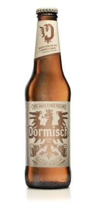 La nuova bottiglia di Birra Dormisch, Udine