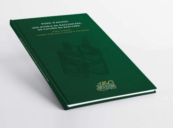 """Copertina del libro-catalogo """"Rossi d'Asiago: una storia da raccontare, un futuro da scrivere"""""""