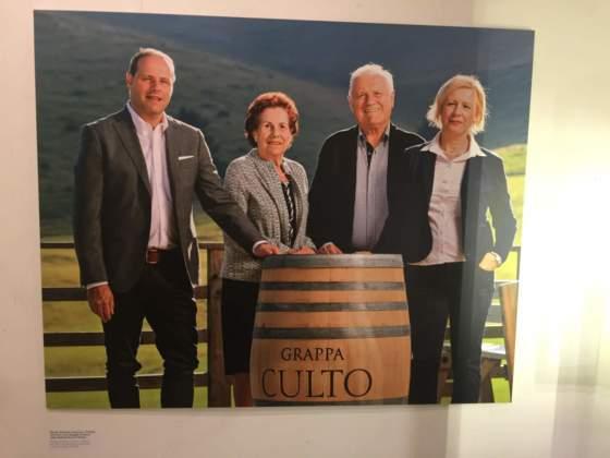 La famiglia Dal Toso: Nicola, Eleonora, Francesco, Patrizia.