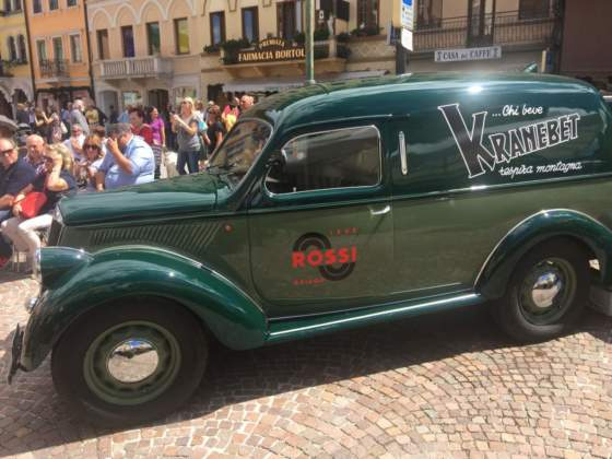 Il furgone d'epoca Lancia Ardea 800 (1951)