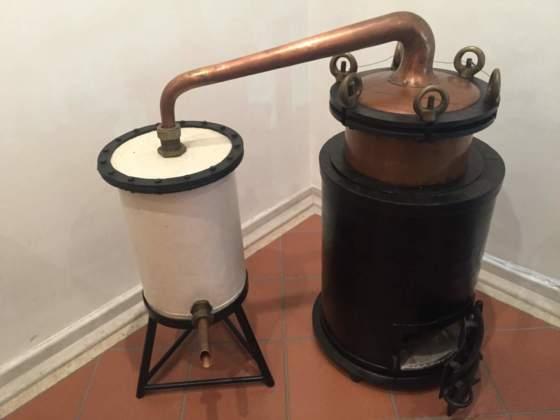 Uno storico distillatore