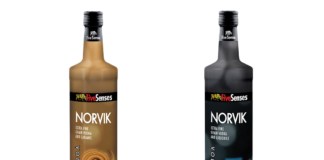 vodka Norvik Mavi Drink