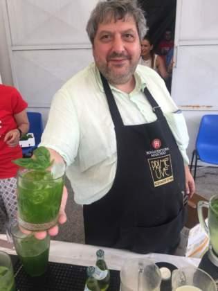 Il cocktail Mediterraneo creato e proposto da Michele Di Carlo