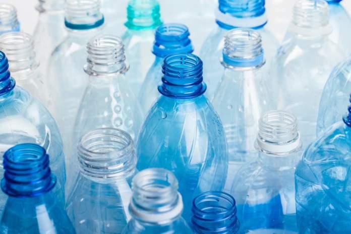 Bottiglie in plastica