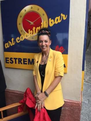 """Cinzia Ferro, organizzatrice di """"Il Vermouth sul Lago"""" e titolare di Art Cocktail Bar Estremadura Café"""
