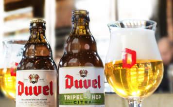 Le specialità belghe Duvel e Duvel Triple Hop Citra.