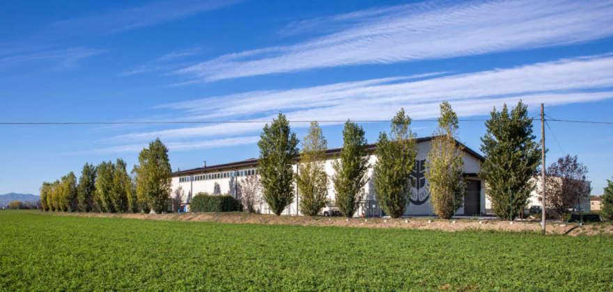 Lo stabilimentio di Soragna (Pr) di Birrificio del Ducato.