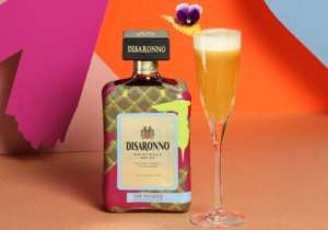 Disaronno Wears Trussardi cocktail