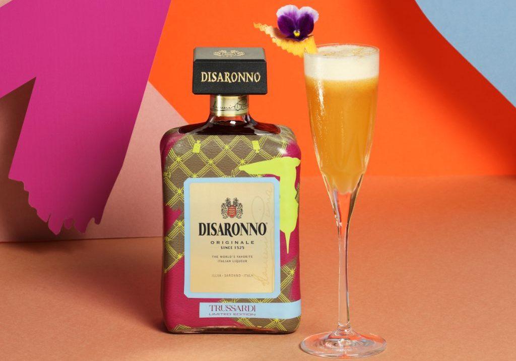 Disaronno Wears Trussardi cocktail