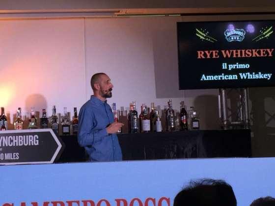 Masterclass Bourbon Whiskey Jack Daniel's (distr. Montenegro) con Stefano Righetti.