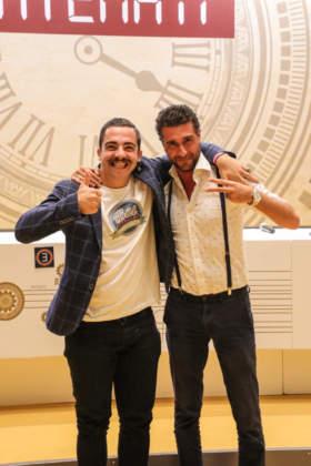 Cat. Jerry Thomas: Giovanni Miola con il coach Kimbo Sette Piterà
