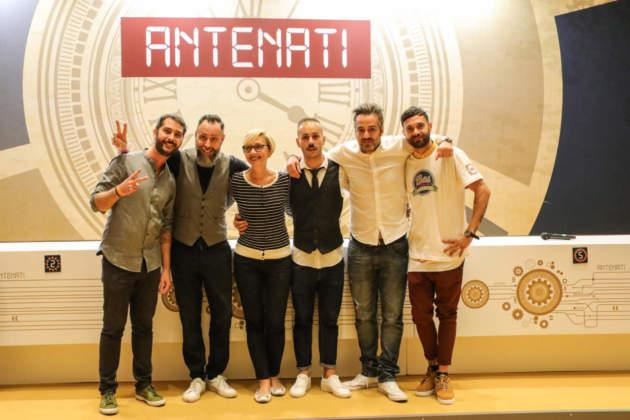 Team Campari Academy composto dal coach Luca Casale, Massimo Sandri, Patrizia Beretta (azienda Campari), Alessio Favi, Christian Lodi (Campari Academy) e Lucio Trezza