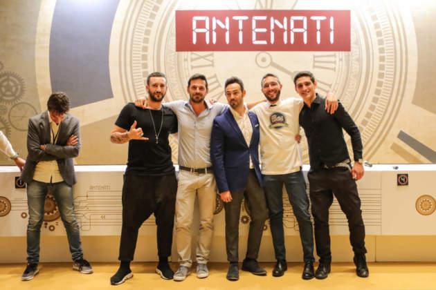 Team Zafferano composto da Gerardo Marcogiuseppe, Marco Manfré (azienda Zafferano), il coach Mario Farulla, Renato Pinfildi e Matteo Neri