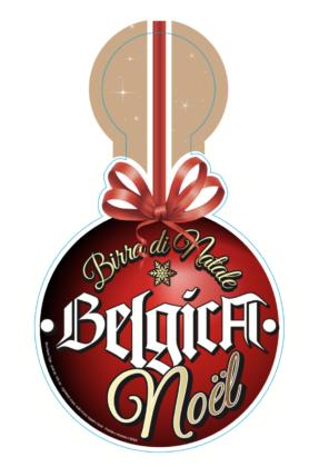 Belgica Birra di Natale pendolino per spina