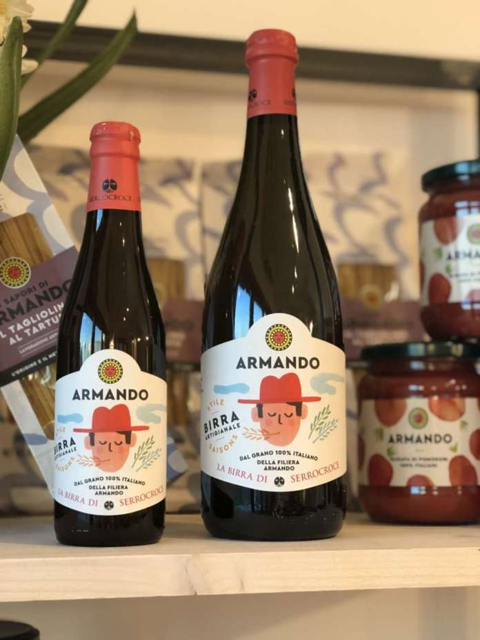 Birra Armando del Birrificio Serrocroce