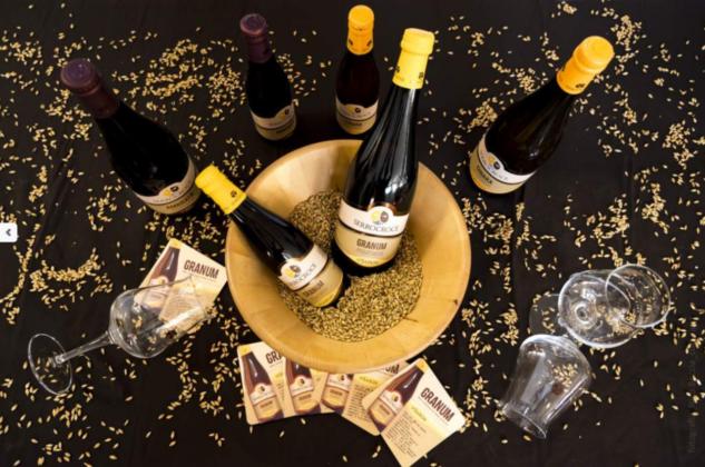 Birra Granum del Birrificio Serrocroce, un'altra saison realizzata con grani antichi