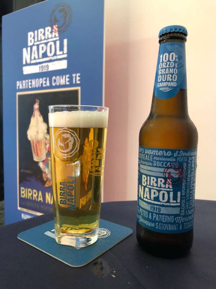 Presentazione di Birra Napoli 1919 a Palazzo San Giacomo