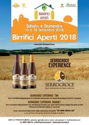 Birrifici Aperti 2018 locandina Serrocroce