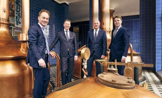Il board dei direttori Swinkels: Stij, Pieter, Jan-Renier, Peer.