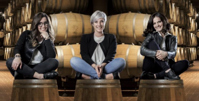 Chiara, Silvia ed Elisa, settima generazione Mazzetti d'Altavilla