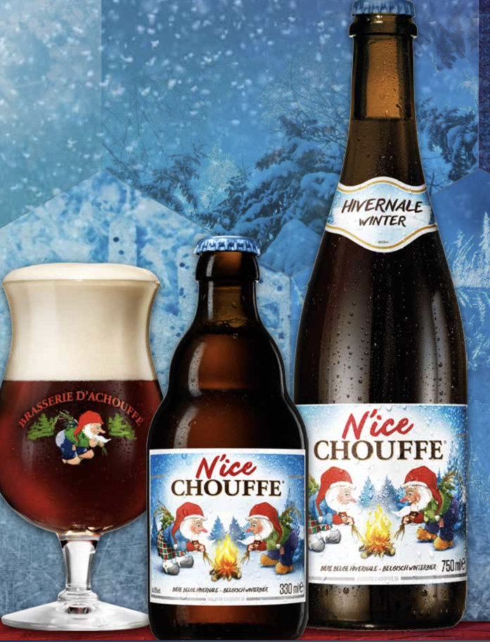 Chouffe N'Ice nelle bottiglie 33 e 75 cl